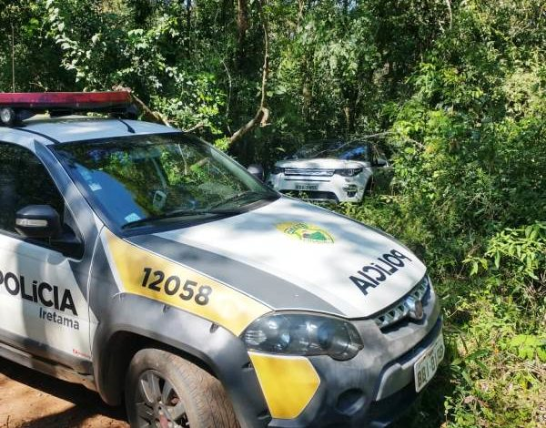 PM de Iretama recupera SUV de luxo roubado em Curitiba