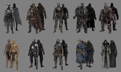 karakter pemain game dark soul
