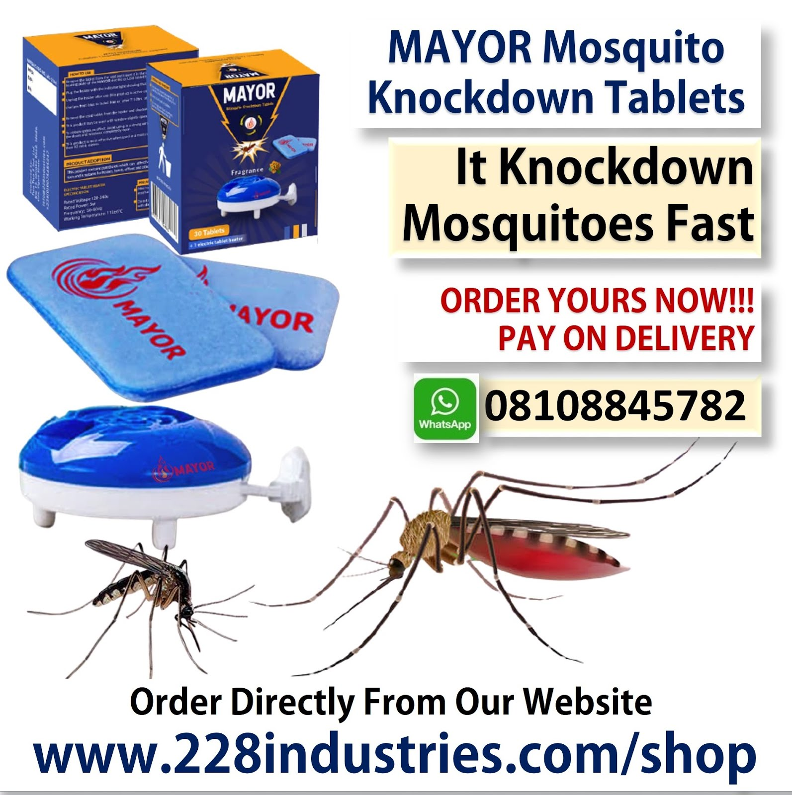 Buy Mayor Mosquito Knockdown