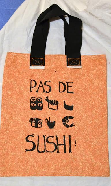 Tote Bag Sushi