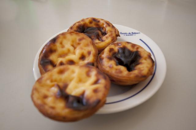 Pasteis de nata da Pastéis de Belém-Belém-Lisbona