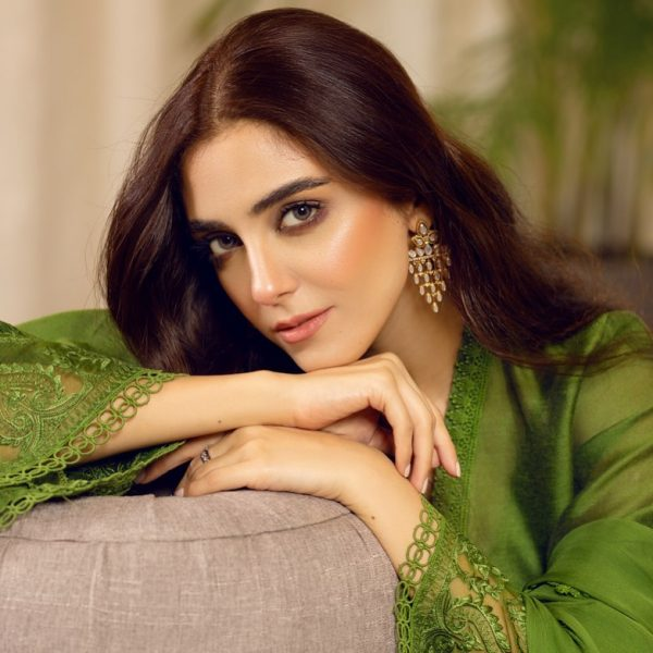 Actress Maya Ali Dreamy Looks from New Colorful Photo Shoot