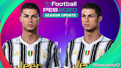PES 2020 Faces Cristiano Ronaldo New Hair Update