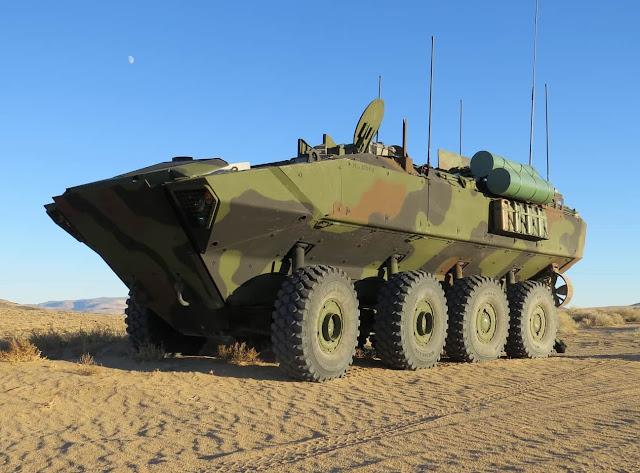BAE Systems được trao thêm 67 triệu Mỹ Kim cho chương trình Xe chiến đấu đổ bộ thế hệ mới