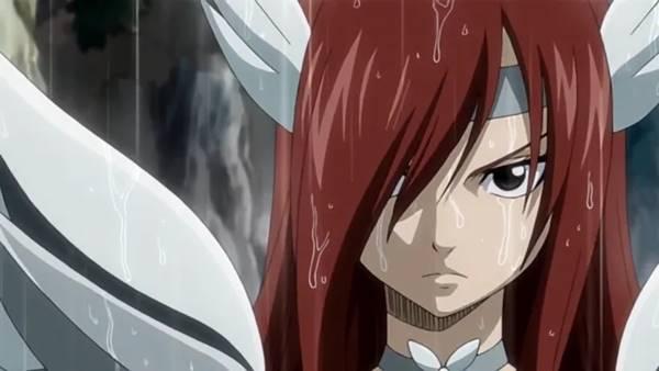 karakter wanita terkuat di seluruh manga Fairy Tail dan acara tv anime.