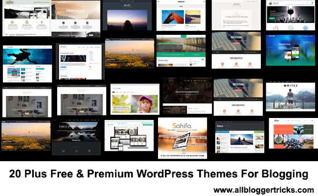 21 Free and Premium Mobile Friendly WordPress Themes For Blogging