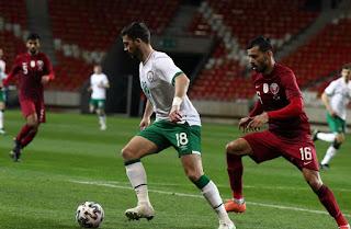 ملخص اهداف مباراة قطر وايرلندا (1-1) تصفيات كأس العالم