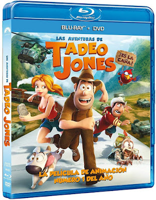 Las Aventuras De Tadeo Jones 2012 BD25 Latino
