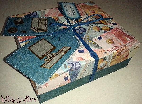 Bitavin S Bastel Blog Geldgeschenk Computer