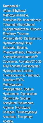 Sunscreen Skin Aqua SPF 30 Ingredients