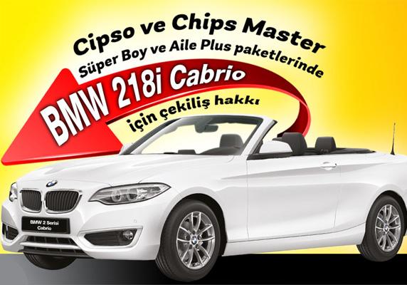 Promosyon, BMW 218i Cabrio, sanslipaket.com, BMW çekilişi 2017, güncel çekilişler, Cipso