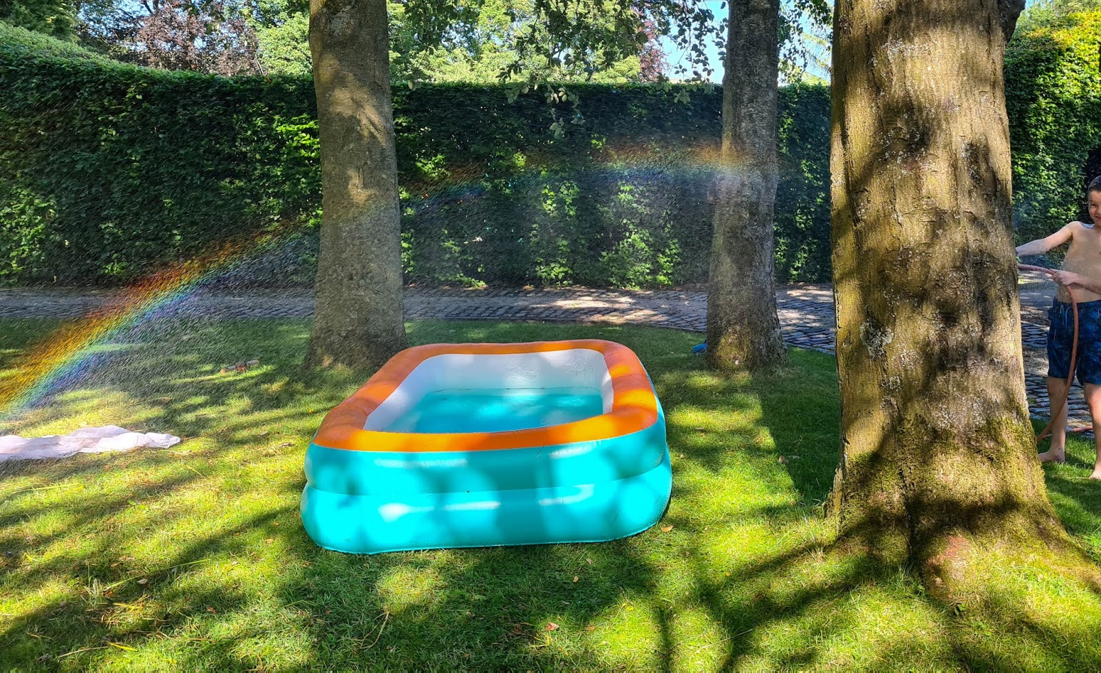 paddling pool June