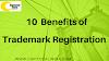 10 best benefits of trademark registration / ट्रेडमार्क पंजीकरण के लाभ
