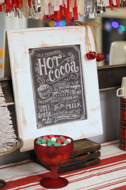 Holiday Warm Up Hot Cocoa Bar