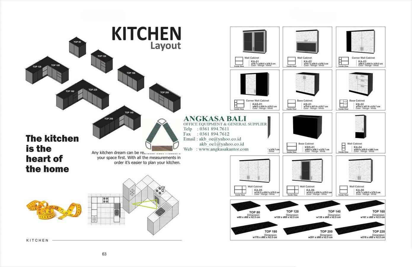 Jual furniture home expo di bali angkasa bali di jakarta for Jual kitchen set surabaya