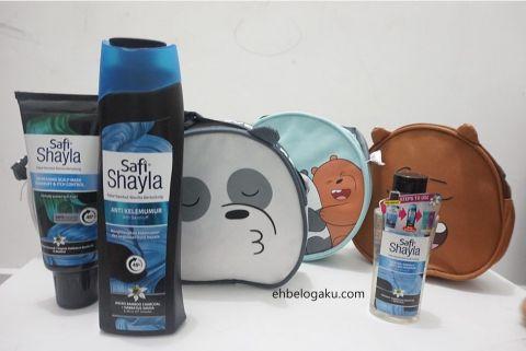 9x more effective dandruff control, kawalan rambut  berminyak, Syampu shayla