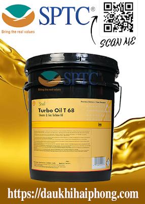 Dầu nhớt Tua-bin Shell Turbo Oil T 68 chính hãng tại Hải Phòng