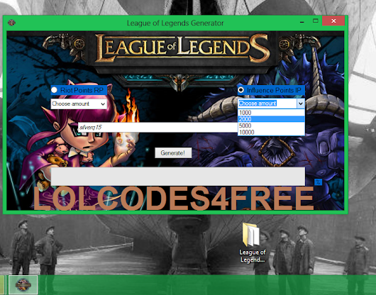 free riot points with the riot points generator lolriotguide - 747×586