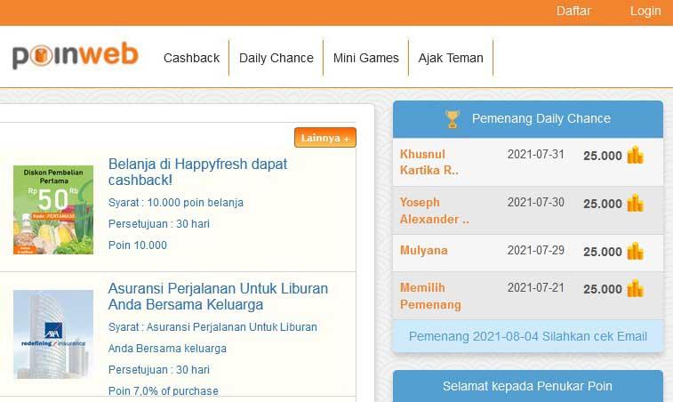 situs penghasil uang terbukti membayar