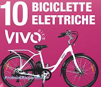 Logo Concorso ''Pedala con Acutil Donna'' e vinci 10 biciclette Vivo Bike e weekend ad Amsterdam
