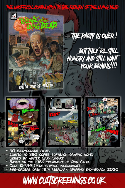 Revenge of the Living Dead (poster promozionale)