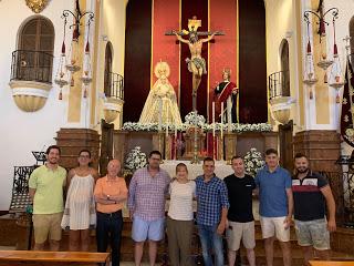 La Banda de la Paz acompañará a la Virgen de las Penas el próximo Martes Santo malagueño