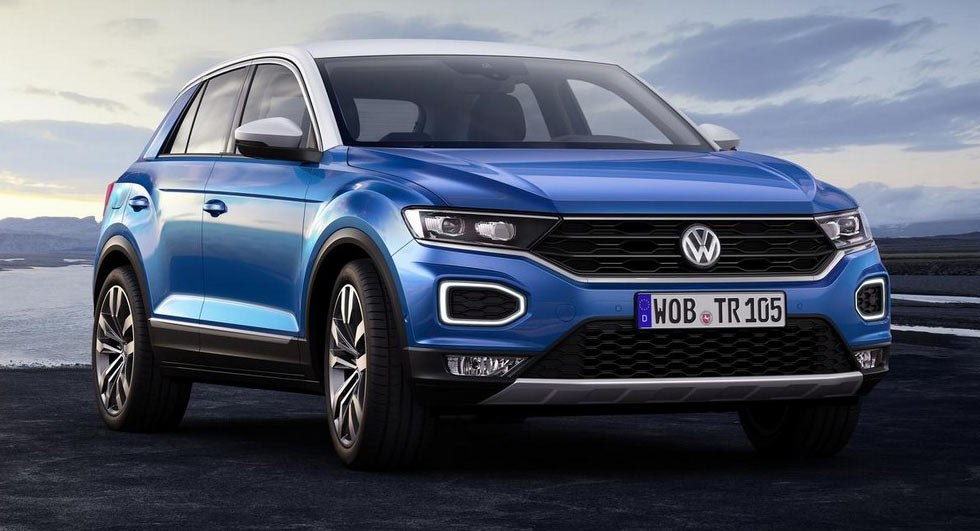 Volkswagen 39 s t roc looks to rock the compact crossover market for Peugeot peronne