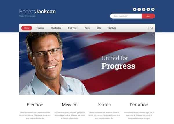 Politics Best Political WordPress Themes 2020