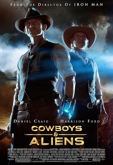 Póster final de Cowboys and aliens