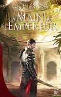 couverture du livre La main de l'empereur de Olivier Gay
