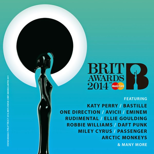 Various Artists - The BRIT Awards 2014 Cover