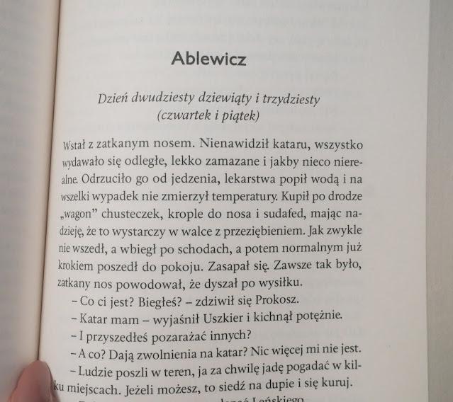 """Fragment powieści """"Łowca"""" Agnieszki Pruskiej"""