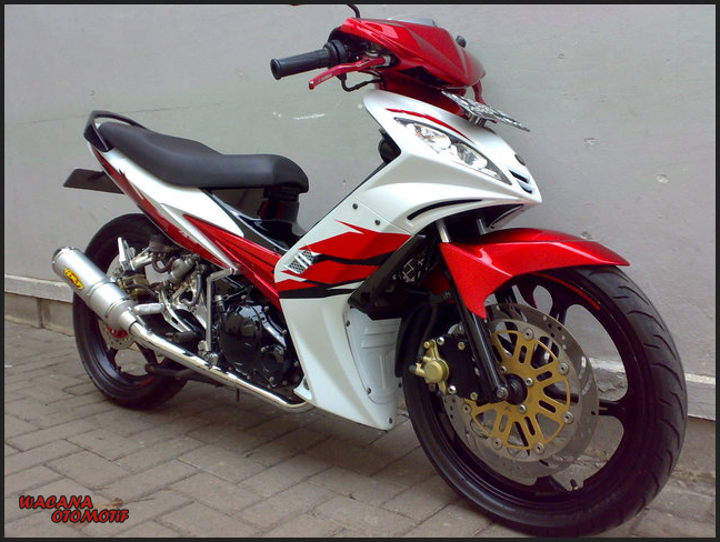 Modifikasi Motor Jupiter Mx 135 Touring Berputar Roda