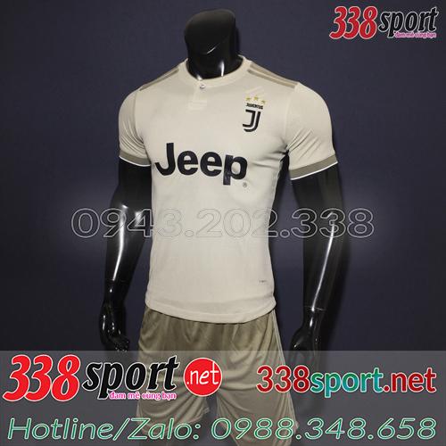 Áo Juventus Xám 2018 2019 Sân Khách 2