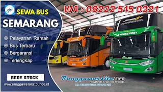Tips Memilih Bus Pariwisata Semarang yang Aman dan Nyaman