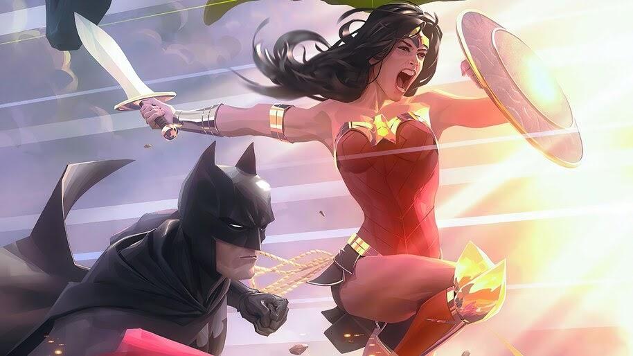 Wonder Woman, Batman, Justice League, 4K, #6.2429