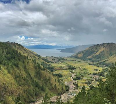 Lembah Bakara, Sudut Keindahan Panorama Alam Danau Toba   Humbang Hasundutan