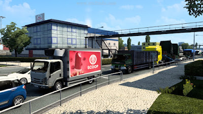 Traffic Pack Truck Indo - ETS2 1.41 Convoy