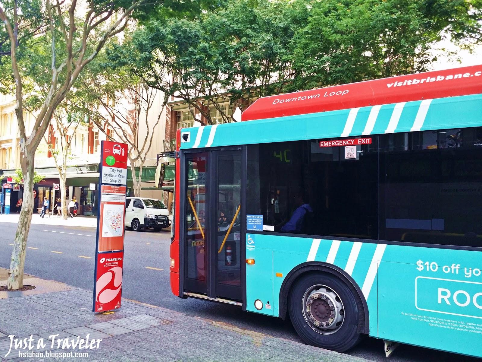 布里斯本-交通-免費-巴士-公車-旅遊-自由行-澳洲-Brisbane-Transport-Free-Bus-Loop-Travel-Australia