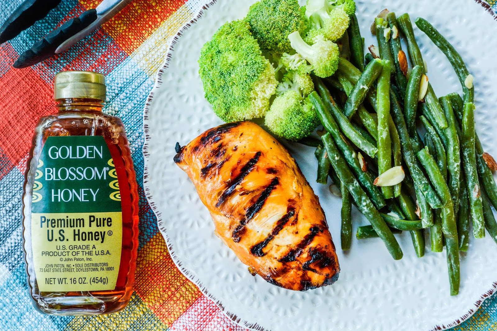 Grilled Chicken with Apple Honey Barbecue Sauce
