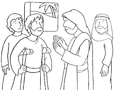 Desde mi rincón de religión: Jesús sana al paralítico