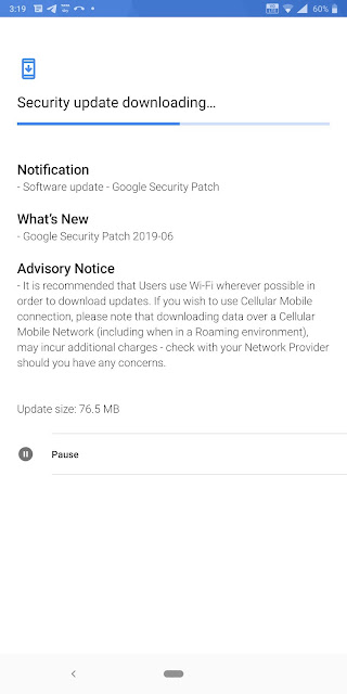 Nokia 9 PureView receiving June 2019 Android Security update