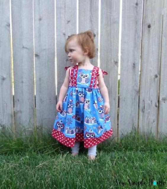 little girl sundress pattern