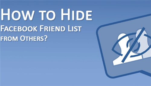 How Do You Hide A Friend On Facebook