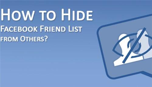 Hide Friend On Facebook