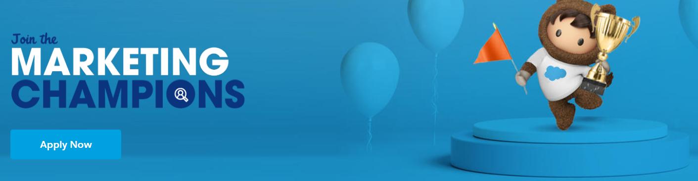 Salesforce Marketing Champions Programs