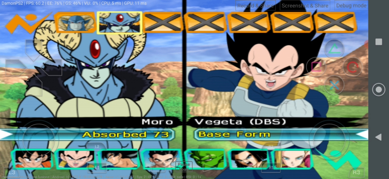 Dragon Ball Super Manga DBZ BT3 MOD PS2