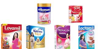 Daftar Harga Susu Untuk Ibu Hamil Yang Baik Bagus Terbaru