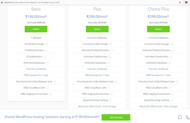 Which is better for webhosting from Bluehost vs HostGator