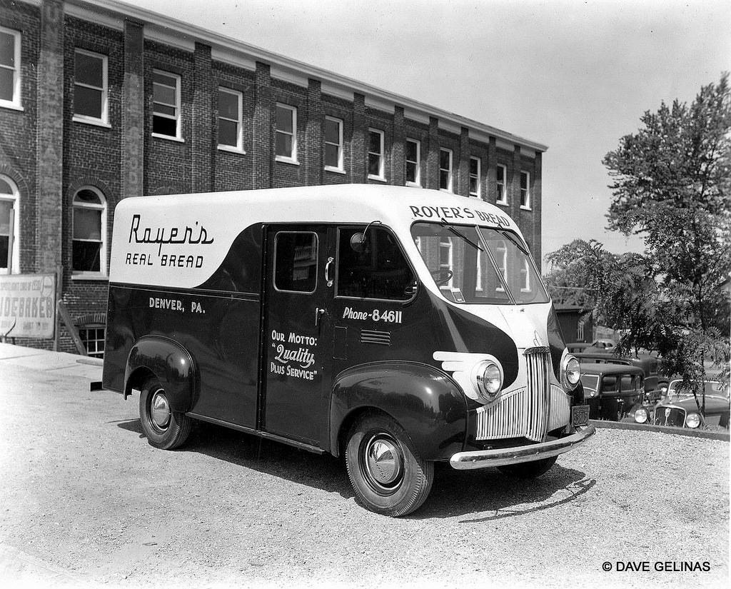 Studebaker Bread Truck Royers Denver PA Ca 1941